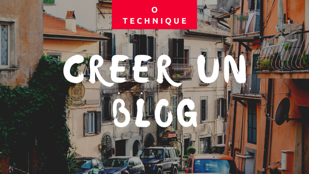 blog sans competence technique
