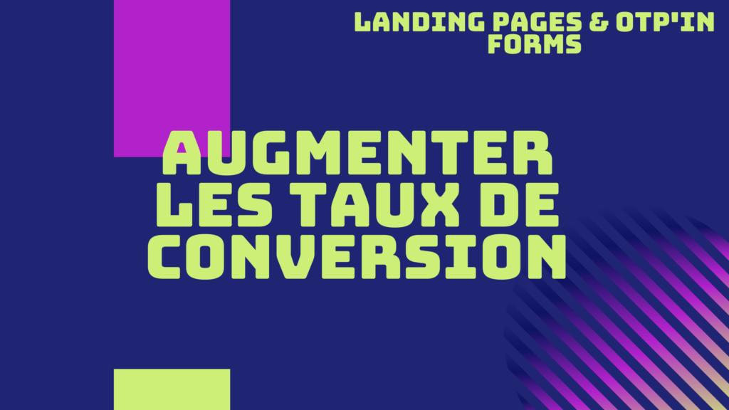 taux conversion pages
