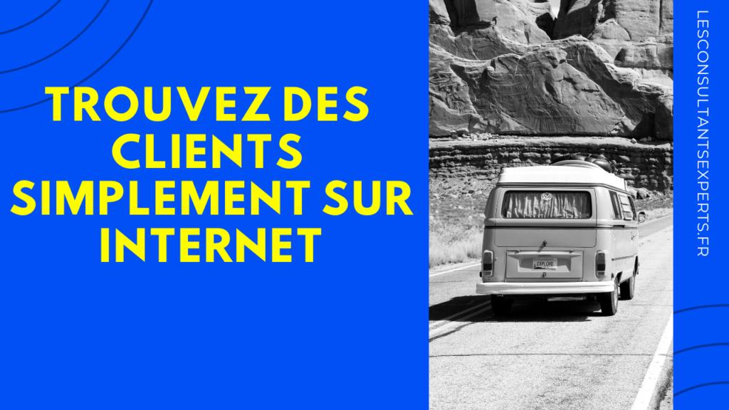 trouver clients internet